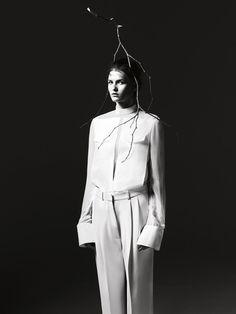 black & white couture