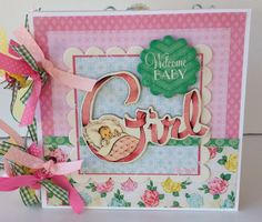Baby Girl Scrapbook Mini Album Premade. $39.99, via Etsy. Mini Scrapbook Albums, Mini Albums, New Baby Girls, Little Girls, Baby Photo Books, Baby Mini Album, Baby Girl Scrapbook, Memory Album, Little Books