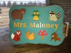 Teacher Name Board