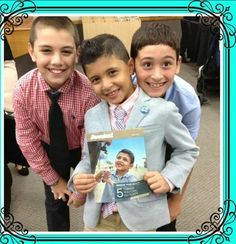 Young brother Jordan on the cover of June Awake! His friends share his joy!