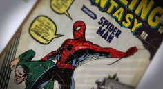 Spider-man's first appearance in Amazing Fantasy 15 - Poster