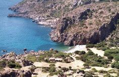 Lissos beach - an isolated beach with large pebbles and trees that will you offer shade and bring relief from the hot summer sun. Plan My Trip, City State, Greek Islands, Greece Travel, Summer Sun, Around The Worlds, Crete Chania, Beach, Places