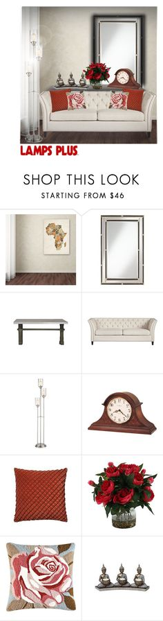 """""""Lamps Plus!"""" by sophieleah1221 ❤ liked on Polyvore featuring interior, interiors, interior design, home, home decor, interior decorating, Trademark Fine Art, Noble Park, Franklin Iron Works and Universal Lighting and Decor"""