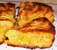 Torta di mele e yogurt, cremosa cremosa