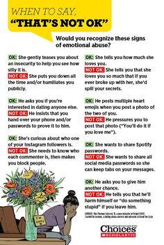 emotional abuse dating
