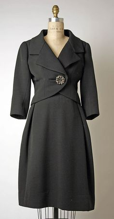 Suit, Marc Bohan (French, born 1926) for the House of Dior (French, founded 1947): 1960-62, French, wool.
