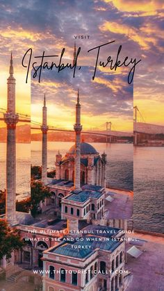 The most beautiful places in Istanbul Istanbul Guide, Visit Istanbul, Istanbul Travel, Beautiful Places To Travel, Best Places To Travel, Places To Visit, Travel Deals, Travel Guide, Travel Destinations