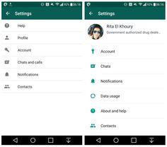 Bei WhatsApp gibt es mal wieder ein paar Neuerungen. WhatsApp Beta für Android hat ein paar optische Neuerungen spendiert bekommen  http://www.androidicecreamsandwich.de/whatsapp-beta-2-12-506-mit-neuer-profilseite-und-optischen-veraenderungen-560342/  #whatsapp   #messenger   #androidapps