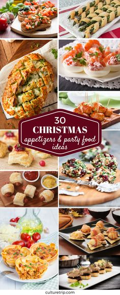 30 Best Christmas Appetizers And Party Food Ideas
