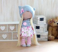 Tilda textil trapo muñeca suave peluche juguete compañero