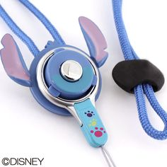 Disney Character Hand Linker Mobile Neck Strap (Stitch)