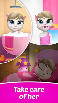 My Talking Angela look after from kitten to cat. - Technology News, Apps News, Android news, IOS Apps, ios News: