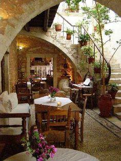 Veneto Suites (Rethymnon, Crete) - Hotel Reviews - TripAdvisor Crete Hotels, Funky Wallpaper, Crete Island, Crete Greece, Adventure Is Out There, Architectural Elements, Greece Travel, Greek Islands, Outdoor Rooms