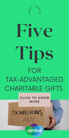 Even with the extended tax deadline in the rearview, you shouldn't ignore taxes until next April. There are five primary ways that people make tax-advantaged charitable gifts during their lifetime. how to do taxes//taxes tips//owner finance//#tax #accounting #taxseason #bookkeeping #taxrefund #accountant #taxreturn #businessowner #incometax #cpa #taxpreparer #taxes Make More Money, Extra Money, Money Tips, Money Saving Tips, Quick Loans, Thing 1, Saving For Retirement, Minimalist Lifestyle