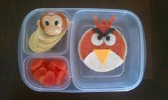 My attempt at an Angry Bird Bento for Jakob (GJK)