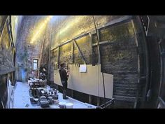 A Christmas Carol - Painting the scenery - YouTube