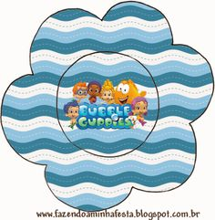 Bubble Guppies: free party printables. Right click and save as (site is in spanish)