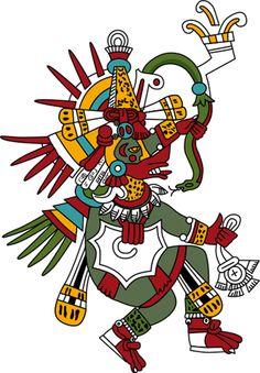 Quetzalcoatl le serpent à plume