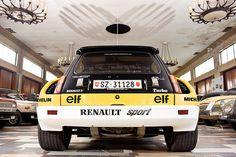 Renault 5 Turbo Rallyeauto im Wartburg-Museum Eisenach zum Fototermin