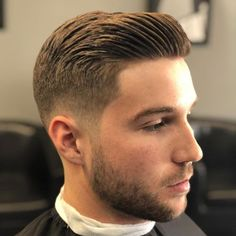 Young Men Haircuts, Best Short Haircuts, Cool Haircuts, Modern Haircuts, Mens Hairstyles Fade, Hairstyles Haircuts, Hairstyle Men, Medium Hairstyles, Wedding Hairstyles