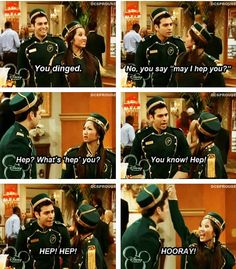 The suite life of Zack and Cody. ohhh i miss the old disney shows. If disney put them back on for one week. It would be the best week. Disney Pixar, Disney And Dreamworks, Funny Disney, Logan Lerman, Shia Labeouf, Disney Love, Disney Magic, Disney Stuff, Zack Et Cody