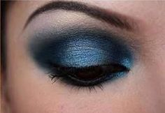 blue eyeshadow for brown eyes