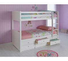 Buy Leigh Detachable Single Bunk Bed Frame - White at Argos.co.uk - Your Online Shop for Children's beds, Beds, Home and garden.
