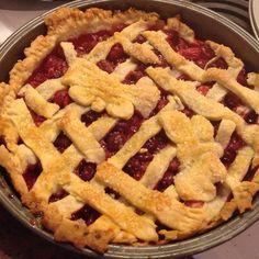 Claudia's Cranberry Pie