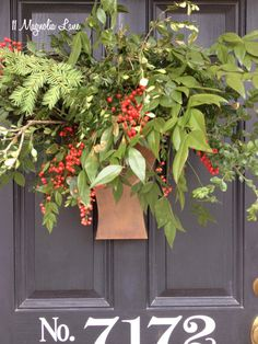Trash to Treasure: Christmas Front Porch Decor |