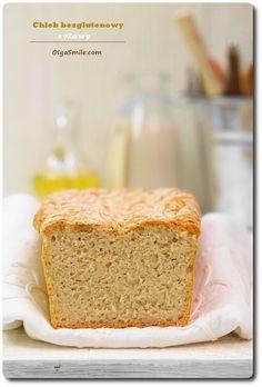 Chleb bezglutenowy ryżowy. Zapraszam dzisiaj na chleb bezglutenowy ryżowy. Ostatnio obiecałam, że pokażę ten chleb bezglutenowy ryżowy więc jest :) W ostatnich
