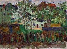 bofransson:  Vasily Kandinsky, Munich (München), ca. 1901–02