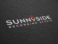 Sunnyside Recording Studio logo design by Colin Dyte, via Behance