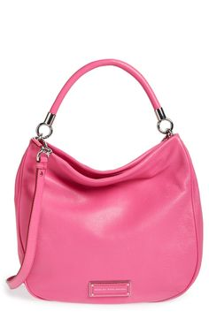 Pretty fuchsia purple Marc Jacobs hobo.