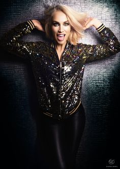 Ramona Nerra  Happy new year ! Foto by : Dominik Brands H&H : Shanna Strauss  A glitter fairytale !