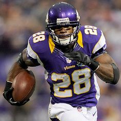 Adrian Peterson has speed and long length on his side, so I start thinking the raciness of acid. And when I start thinking acid, I think Riesling. The best ones give you a matchup of great racy acid and a sweet finish, like when you celebrate your first week fantasy win.