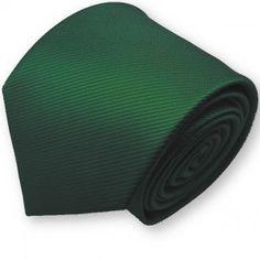 Cravate vert-foncé
