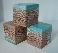 handmade soap - Modified Circling Taiwan Swirl, by Любовь Евтеева