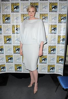 Pin for Later: Comic-Con 2015 Est Plus Sexy Que Jamais Gwendoline Christie