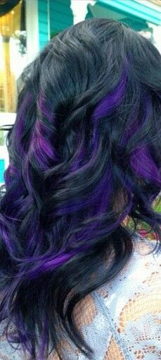 1000 ideas about purple streaks on pinterest purple