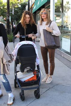 Family fun:Joined by her daughter Spencer and granddaughter, the legendary actress seemed...