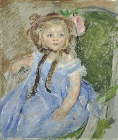 a biography of mary cassatt an american painter This is what her painting in the loge shows: a woman in black sitting in a  for  much of her life, mary cassatt was the american face of french.