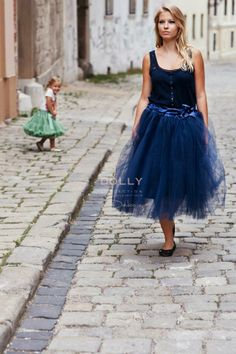 Dolly Greece - Long Tutu Navy Woman by Le Petit Tom, €74.00 (http://www.dollygreece.com/long-tutu-navy-woman-by-le-petit-tom/)