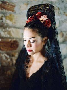 Corset Back Wedding Dress, Black Wedding Dresses, Princess Wedding Dresses, Wedding Party Dresses, Lace Wedding, Wedding Decor, Bright Wedding Colors, Flamenco Costume, Spanish Dress