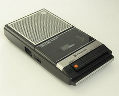 Classic Panasonic cassette tape recorder - I had so much fun with this