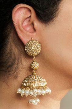 Fashion Earrings | Jhumkas | Chandballis | IndiaInMyBag.com