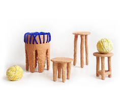Terracotta Furniture by Chris Wolston.