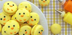 Easter Inspired #Macarons are absolutely adorable. - Foodista.com