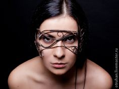 Карнавальные костюмы ручной работы. Ярмарка Мастеров - ручная работа маска Фея Моргана. Handmade.