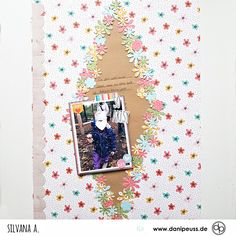 Scrapbooking Layout mit dem Februarkit | von Silvana für www.danipeuss.de #danipeuss #scrapbooking #memorykeeping #papercrafting #basteln Project Life, Scrapbooking Layouts, Inspiration, Paper, Home Decoration, February, Projects, Cards, Biblical Inspiration