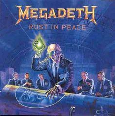 Megadeth - Rust In Peace album cover